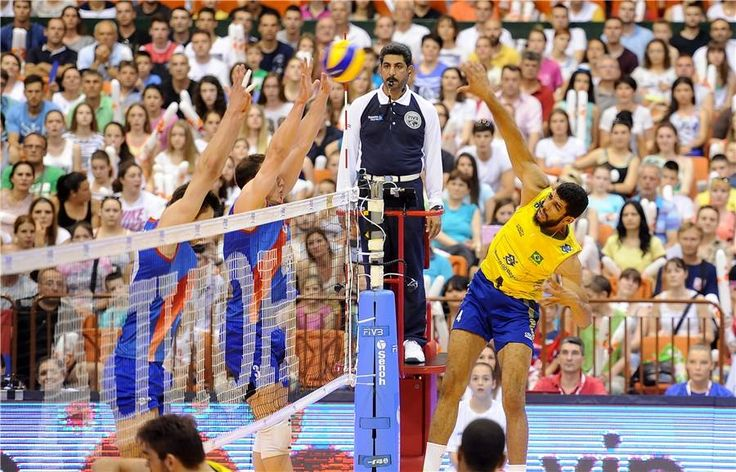 Serbia, playing at home, has managed to turn on Brazil and won by 3 sets to 2 (22/25, 23/25, 25/23, 25/21 and 15/13). The opposite Brazilian Wallace was the biggest producer of the match with 24 successes.