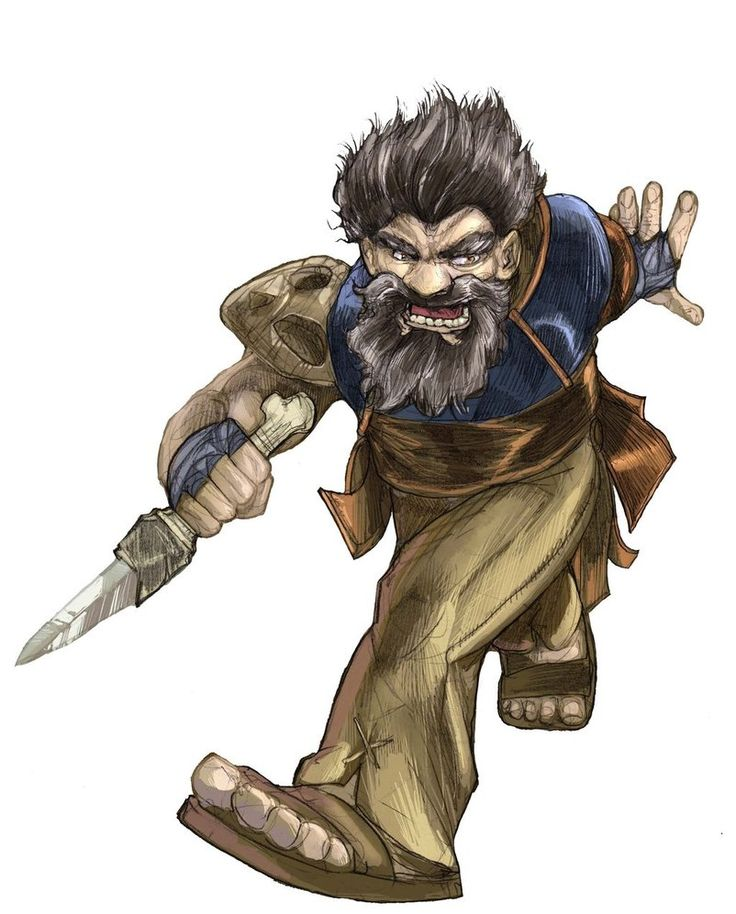 Pathfinder Rogue by facelesscow