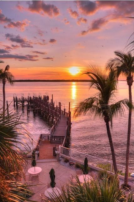 Peaceful Sunset, Sanibel Island, Florida