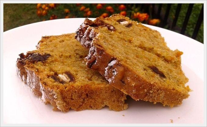 Mała kuchareczka: Ciasto z dynią i figami