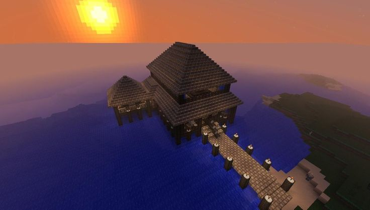My friend plays Minecraft and wanted a resort kind of house. I should show him this...
