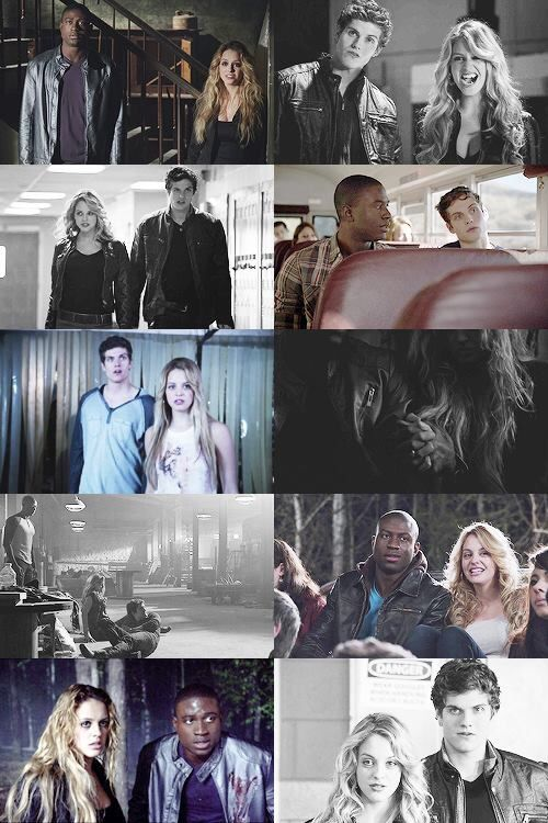 They were new in Season 2 and now they'll all be missing in Season 4 =( At least Isaac isn't dead... Isaac, Boyd, & Erica - Teen Wolf