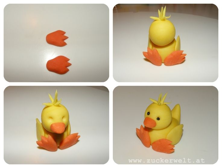 Easter Chick Polymer Clay Step-by-Step Tutorial
