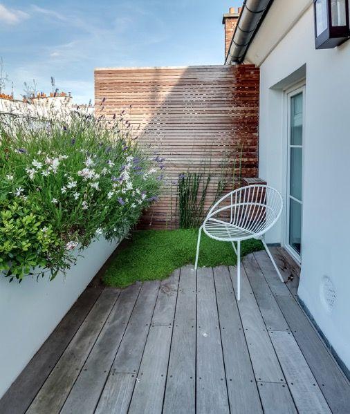 Rambuteau, Terrasse des Oliviers.
