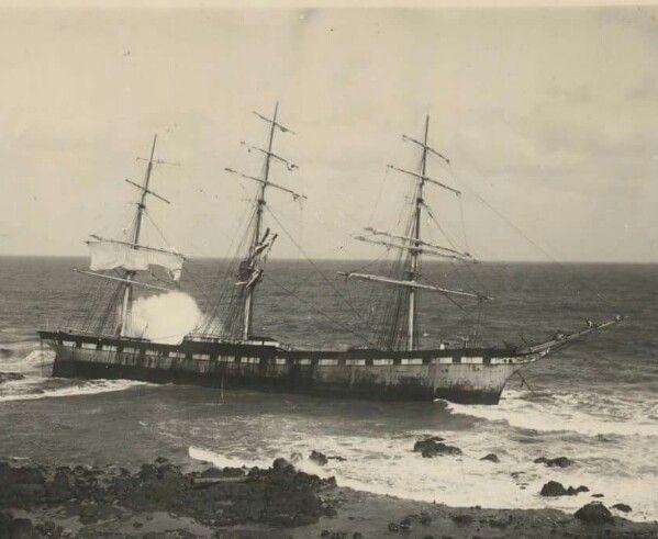 S.S. Speke shipwreck at Kitty Miller Bay, Phillip Island, Victoria Australia