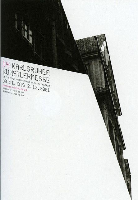 ZKM Plakatwand 2002 Exhibit: Designed by Sven Michel, Image from Karlsruher Ikonotope 1992-2002