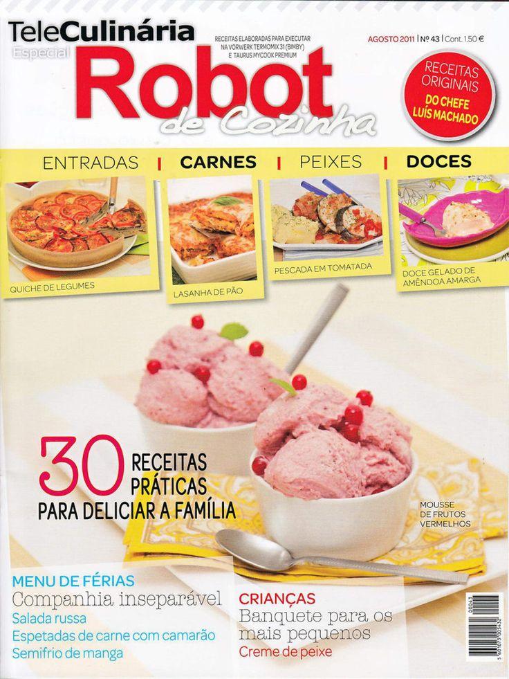 TeleCulinária Robot de Cozinha Nº 43 - Agosto 2011