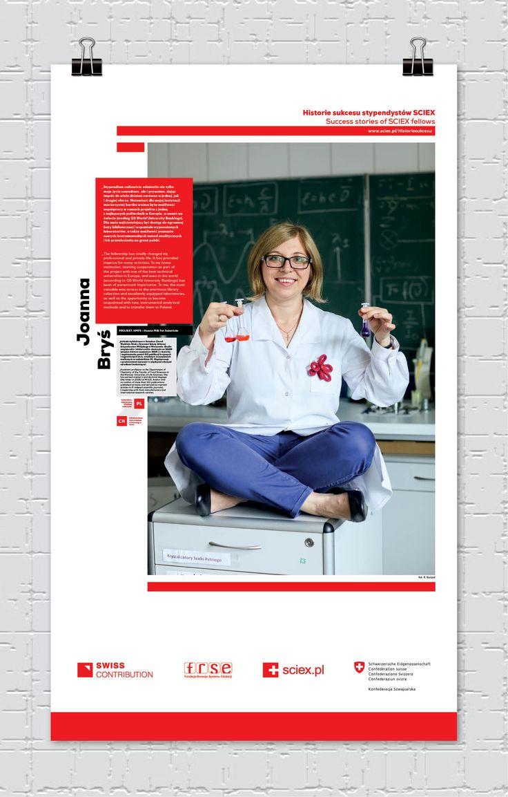 Joanna Bryś,  stypendystka SCIEX/ SCIEX fellow