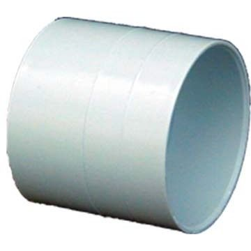 "Genova Products 40140 4"" PVC Coupling (Coupling D3034 4""), Grey metal"