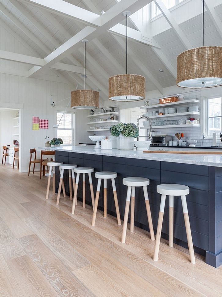 incredible 75 Fantastic Beach Cottage Kitchen Design and Decorating https://decorspace.net/75-fantastic-beach-cottage-kitchen-design-and-decorating/