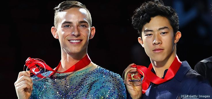 """Despite """"Cursed Ice,"""" Nathan Chen, Adam Rippon Win Gold And Silver, Qualify For Grand Prix Final At Skate America"""