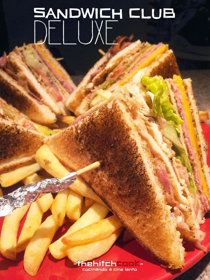 Sandwiches famosos. Venga va. Prepara la tostadora porque te traemos unos sandwiches a los que no te vas a poder resistir