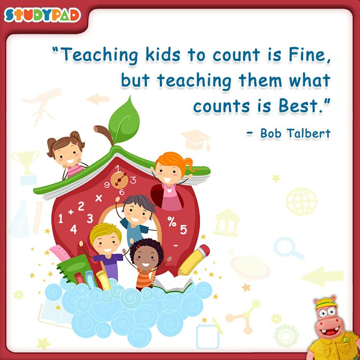 Education Quotes For Kids: Teaching Kids To Count Is Fine, But Teaching Them What