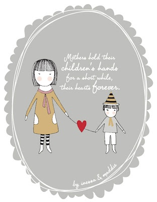 Printable Mother's Day Cards;  love this quote.