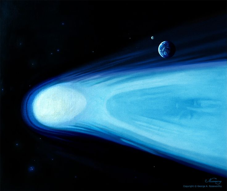 Halley's Comet by *Cliffwind on deviantART