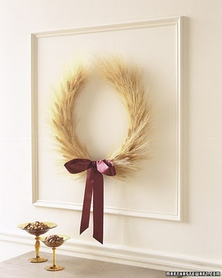 #Thanksgiving #wheat #wreath
