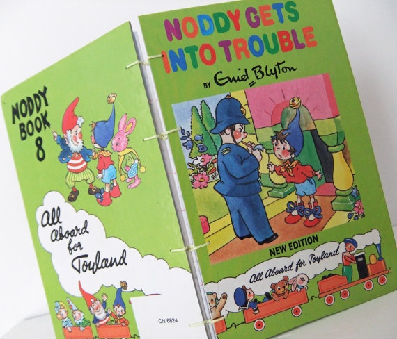 #Noddy - now a #handmade #notebook