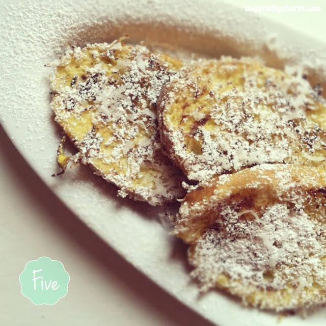 Coconut Crusted French Toast | Recipes-Breakfast recipes | Pinterest