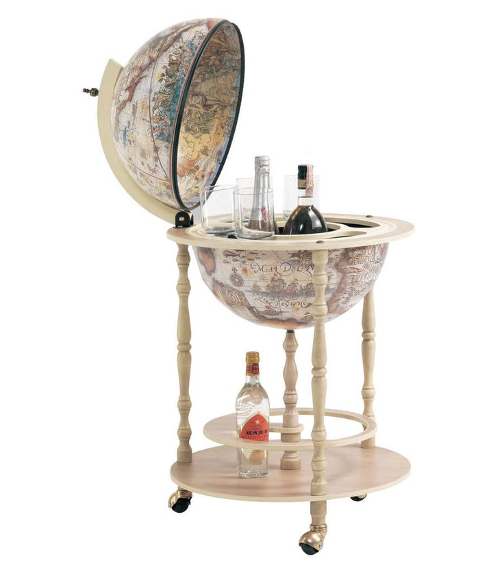 Bar Globe Drinks Cabinet 42/I Italian with Certificate of Authenticity in Home, Furniture & DIY, Cookware, Dining & Bar, Bar & Wine Accessories | eBay