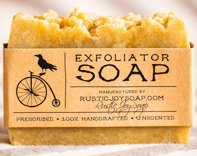 Exfoliant, cadeau de Noël de savon exfoliant gommage visage gommage cadeau pour son cadeau petite amie pour femmes maison femme fait à la main cadeau savon végétalien