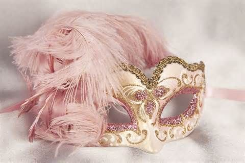 Small Feathered Masquerade Masks for Kids - BABY PIUMA GOLD