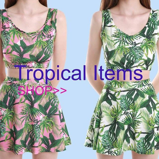 Shop the new tropical items at fyvfyv #fyvfyv #ootd #fashion #daily #tropical #tropicalitem #coords