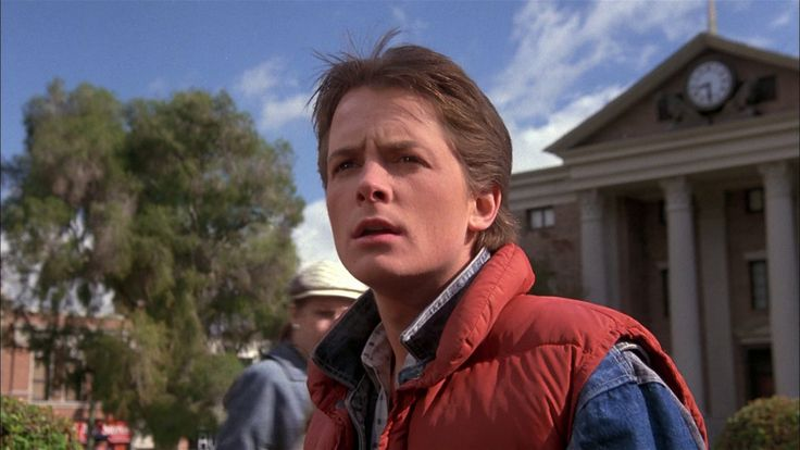 There Is A Supercut Of Marty McFly Screaming And It's Wonderful