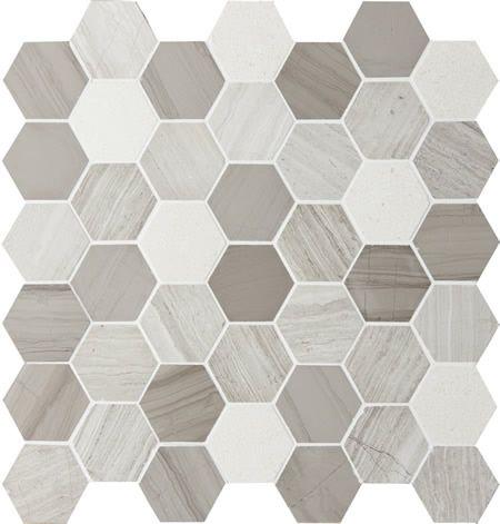 montage tile Sirocco HEXAGON Stonewash