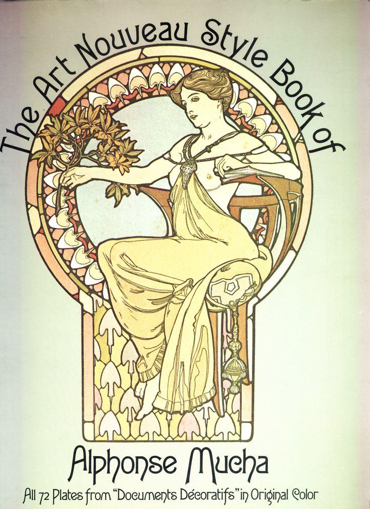 Poster for documents decoratifs 1902 alphonse mucha - Art deco et art nouveau ...