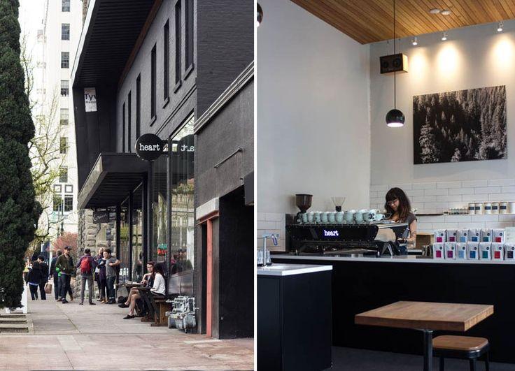 Heart Coffee Roasters Portland westside shop review