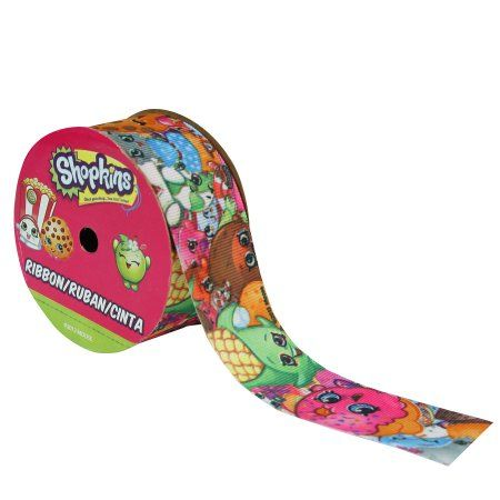 Offray Ribbon Shop Crazy Shopkins 1 1/2 Inches X 9 Feet