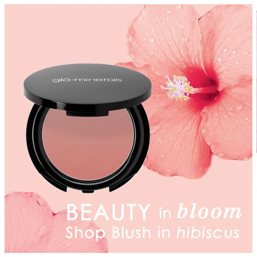 Beauty in Bloom: Blush in hibiscus via @gloProfessional #beauty #makeup