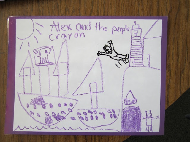 Harold and the Purple Crayon Paper Pictures