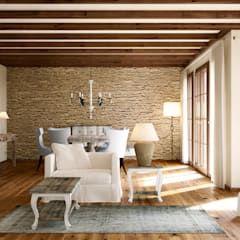 Wohnwelt Country: Landhausstil Wohnzimmer Von Makasa