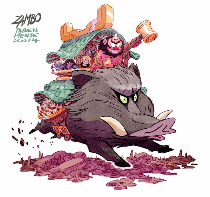 Zambo et Colosselle