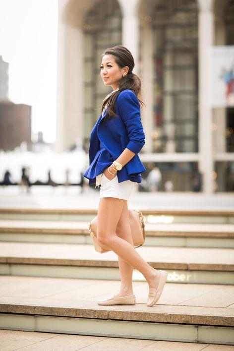 Cobalt City :: Royal blue blazer