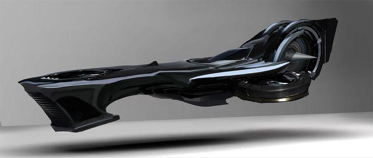 Spaceship concepts by Giorgio Grecu
