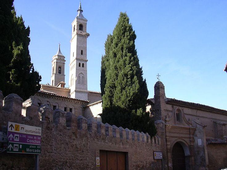 Zaragoza Borja - Colegiata - Torres mudéjares -