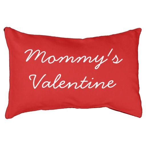 Mommy's Valentine, Indoor Dog Bed! #fomadesign