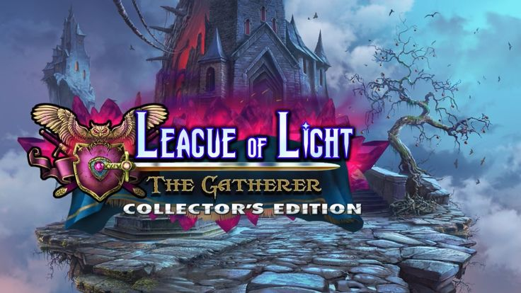 League of Light 4: The Gatherer Collector's Edition Logo. You will spend various time in League of Light: The Gatherer Collector's Edition game, exploring lots of snap things.