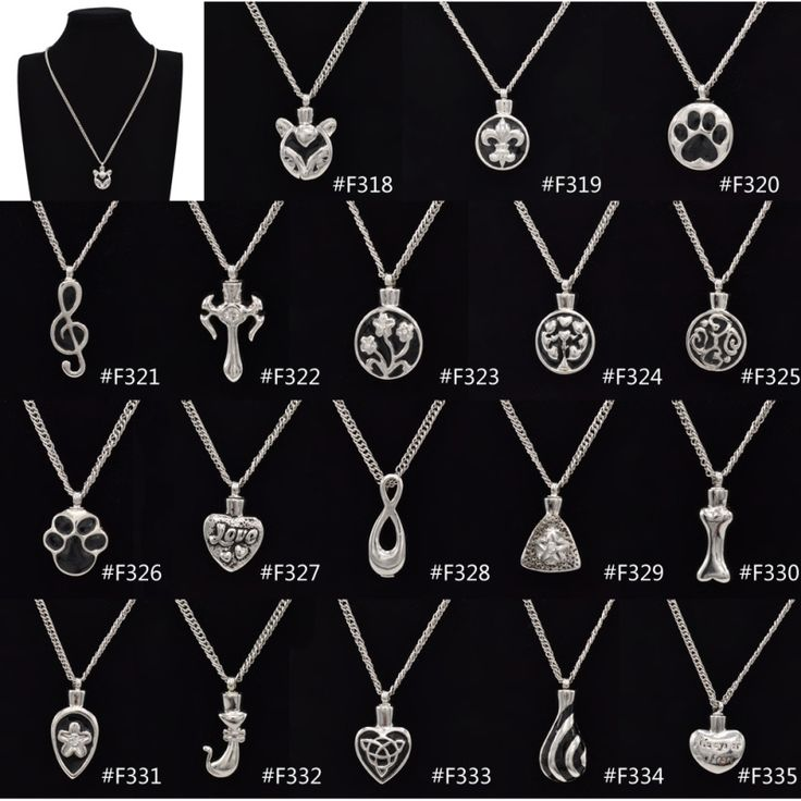 Lychee 1 piece New Arrival Alloy Memorial Cremation Urn Necklace Locket Pendant Bone Ash Jewelry for Men Women