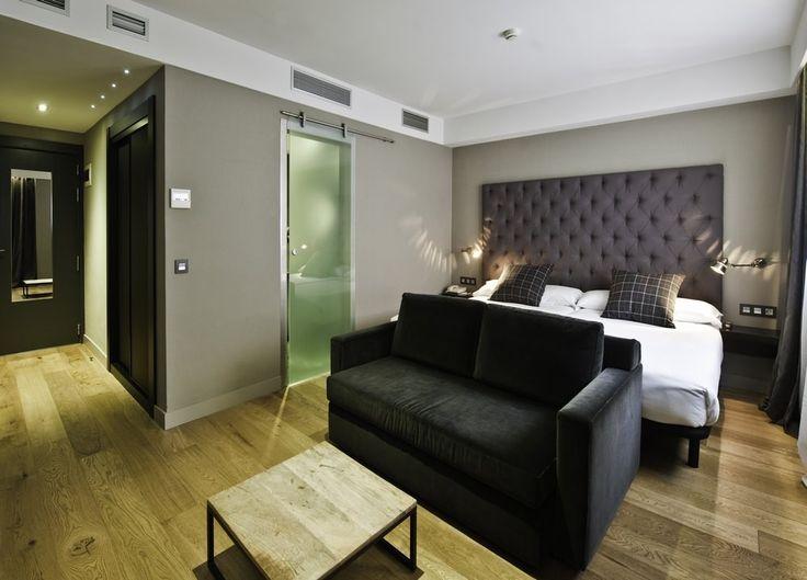 Habitación del Hotel Zenit Abeba, Madrid.