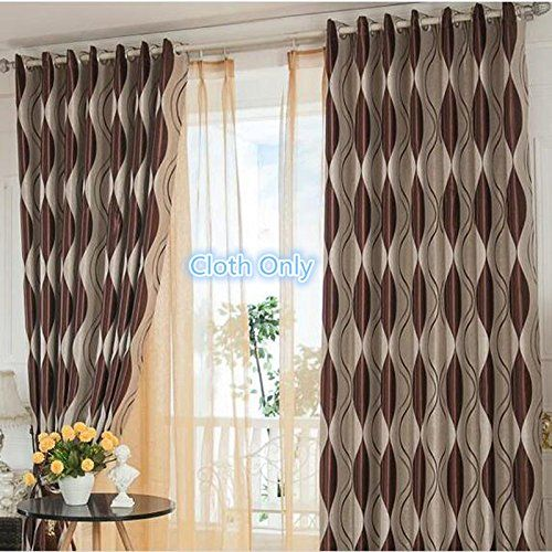 Amazon.com: ZWB Elegant and Comfort Heavy Thick Curtains for Living Room Bedroom Grommet Top Blackout Curtains for Sliding Glass Door Kids Room 1 Panel W75 x L96 Inch: Home & Kitchen