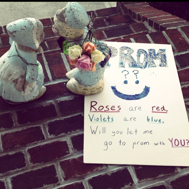 What I Woke Up To Quot How My Sister Got Asked To Prom So Jealouss Quot Dance Asking Ideas