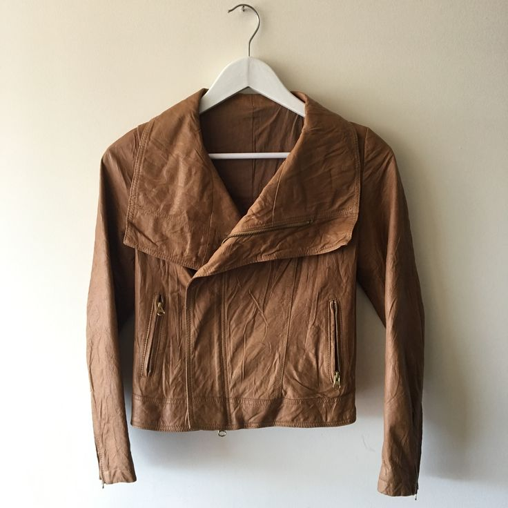 Vintage leather jacket from HongKong