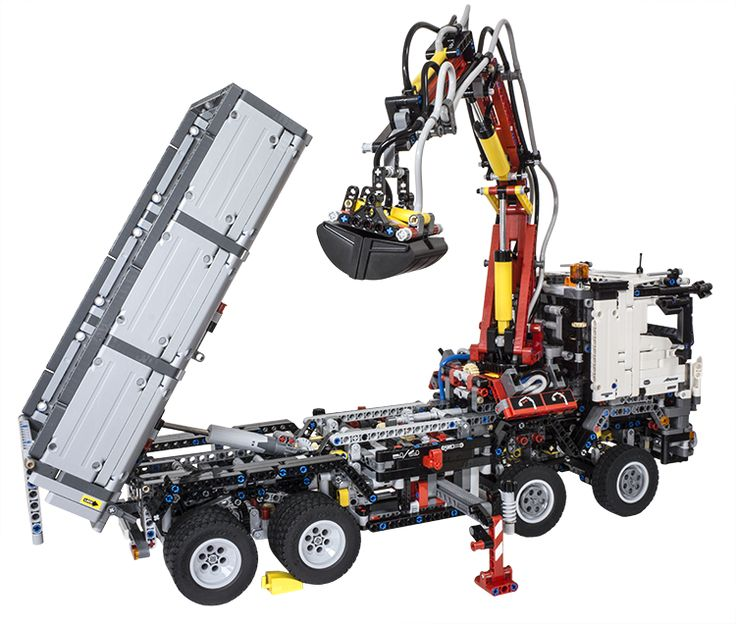 review lego technic 42043 mercedes benz arocs 3245. Black Bedroom Furniture Sets. Home Design Ideas