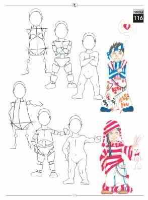 Fashion design book - The fashion drawing book for fashion designer