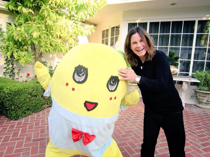Funassyi with Ozzy