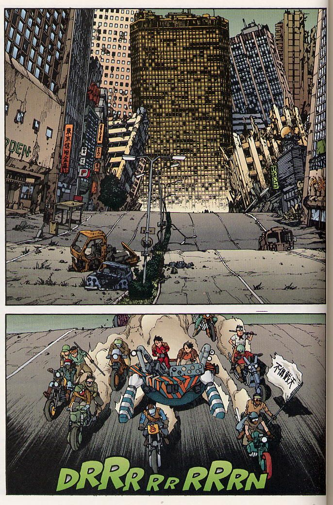 beatscomicsandlife:  Akira epic comics issue 30