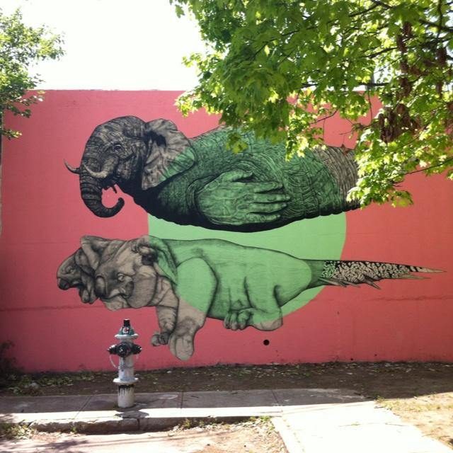 Atlanta Art ArtGraffiti MuralsWall MuralsLiving